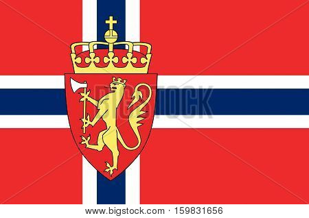 Flag of Kingdom of Norway is a sovereign and unitary monarchy of the Scandinavian Peninsula