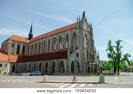 Church Of The Assumption Of Our Lady And Saint John The Baptist In Kutna Hora, Czech Republic