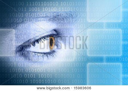 High-Tech Auge