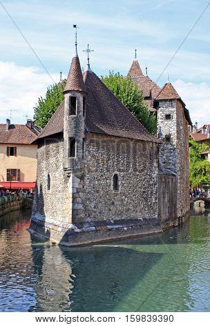 Palais de L'Isle in Annecy town, France