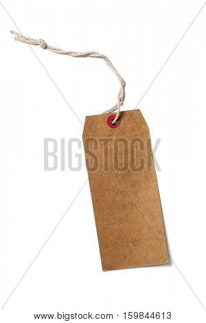 Label (tag) on white background -Clipping Path