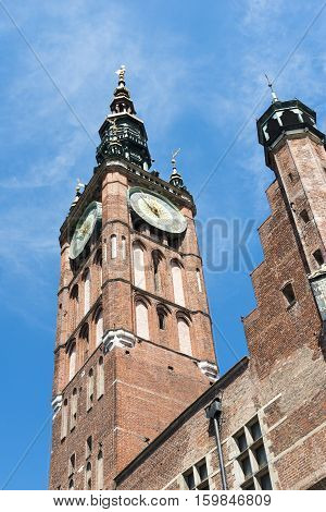 Watch Tower In Gdansk