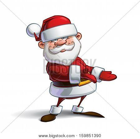 Happy Santa - Showing