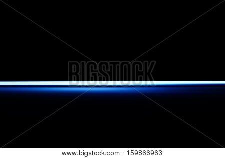 Horizontal blue blast beam illustration background hd