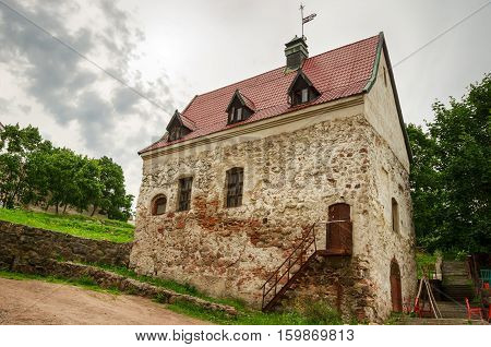 Burger Manor - a historic building in the center of Vyborg Russia