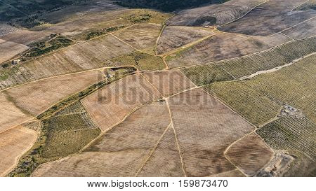 Industrial farming and agriculture from the sky