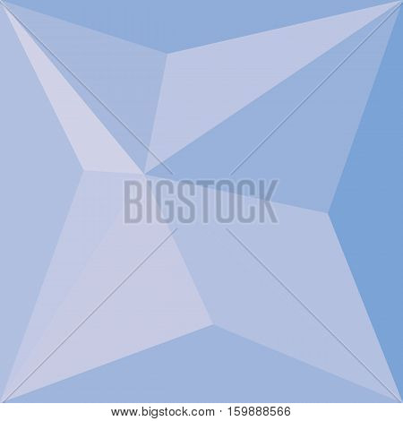 Blue Color Light Background, Vector By Eps10