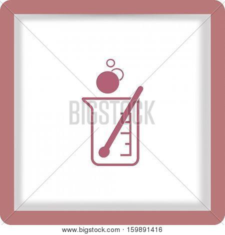 flat beaker icon
