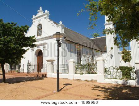 Stellenbosch Rhenish Church In South Africa