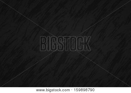 Black abstract background with dark streaks vector illustration
