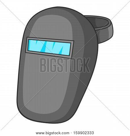 Welder mask icon. Cartoon illustration of welder mask vector icon for web design