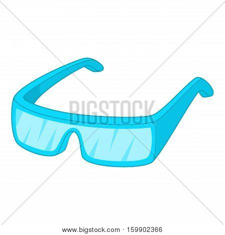 Protective glasses icon. Cartoon illustration of protective glassesvector icon for web design