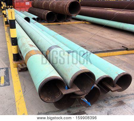Oil And Gas Offshore Industry Structural Steel Pipe Work
