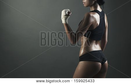 Image Of Middle Eastern Female In Sports Clothing Relaxing After Workout Image Of Middle Eastern Fem