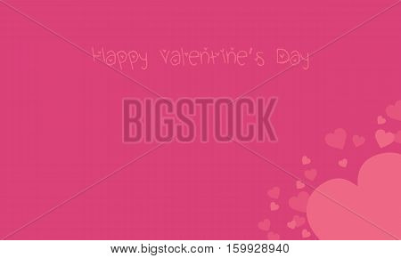 Background valentine day romance vector art collection stock