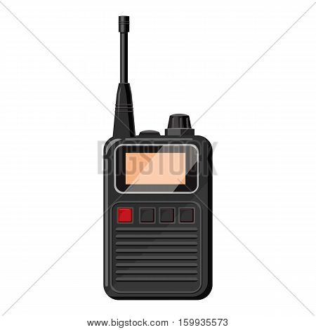 Radio icon. Cartoon illustration of radio vector icon for web