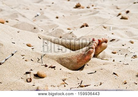 Corpse In The Sand
