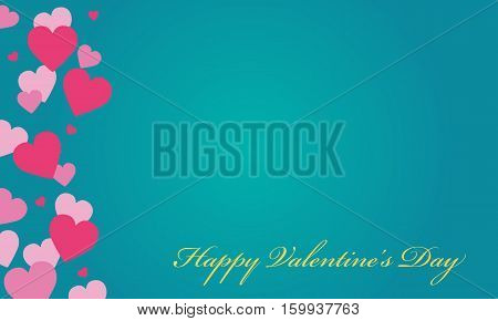 Love valentine backgrounds vector art collection stock