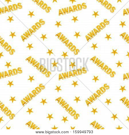 Awards Seamless Pattern