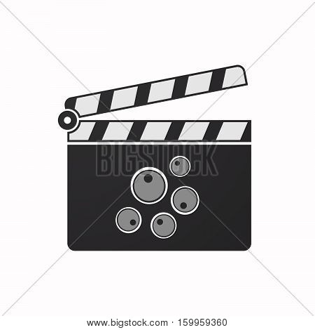 Isolated Clapper Board With Oocytes