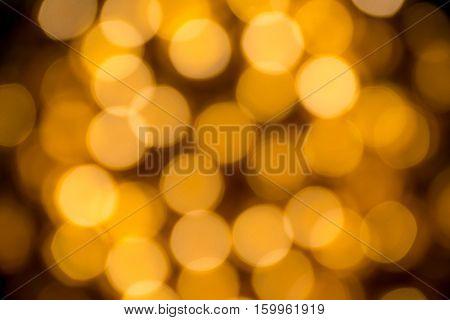 Abstract Bokeh Of Light