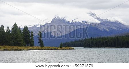 Lake Medicine Near Jasper In Canada