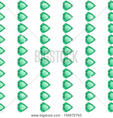 Diamonds seamless pattern. Vector illustration jewerly. Abstract diamond vector background. Seamless background, brilliant jewels poster