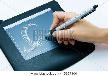 designer digital drawing pad