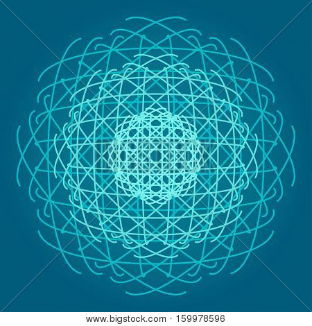 Sacred geometry symbols and elements background. Cosmic, universe, big bang, alchemy, religion, philosophy, astrology, science, physics, chemistry and spirituality themes. Matter, space, time.