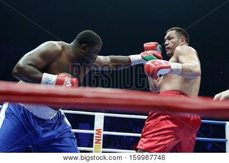 Kubrat Pulev Vs. Boxer Samuel