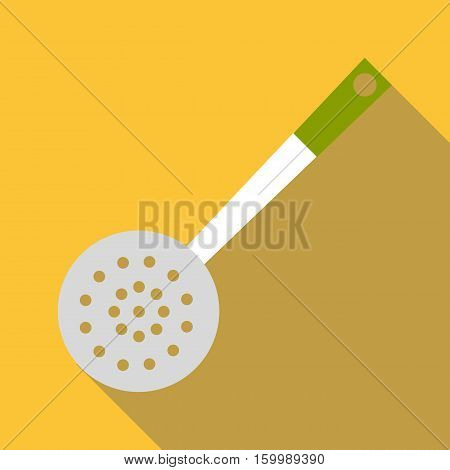 Skimmer icon. Flat illustration of skimmer vector icon for web