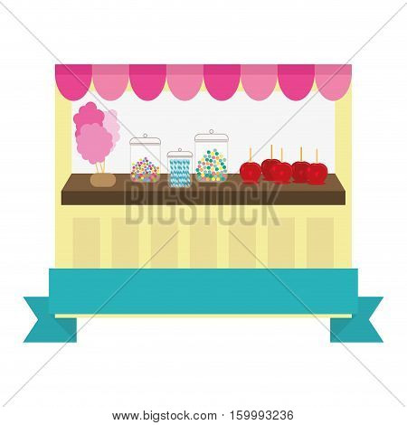candy store icon image vector illustration design