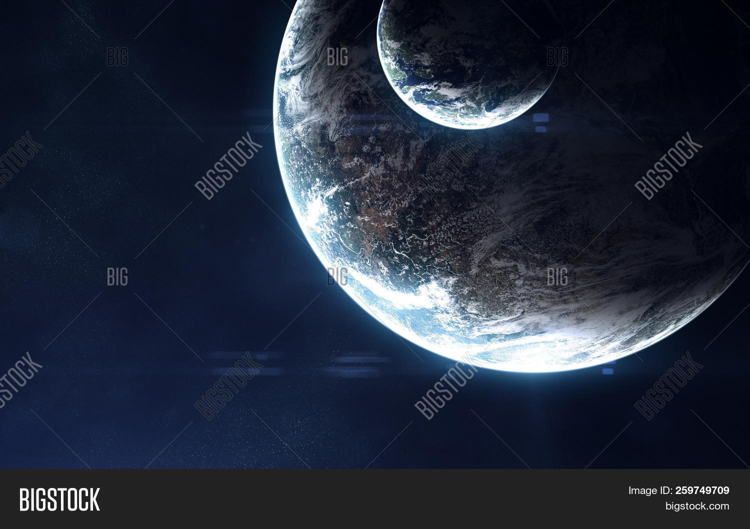 Deep Space Exoplanets Image Photo Free Trial Bigstock