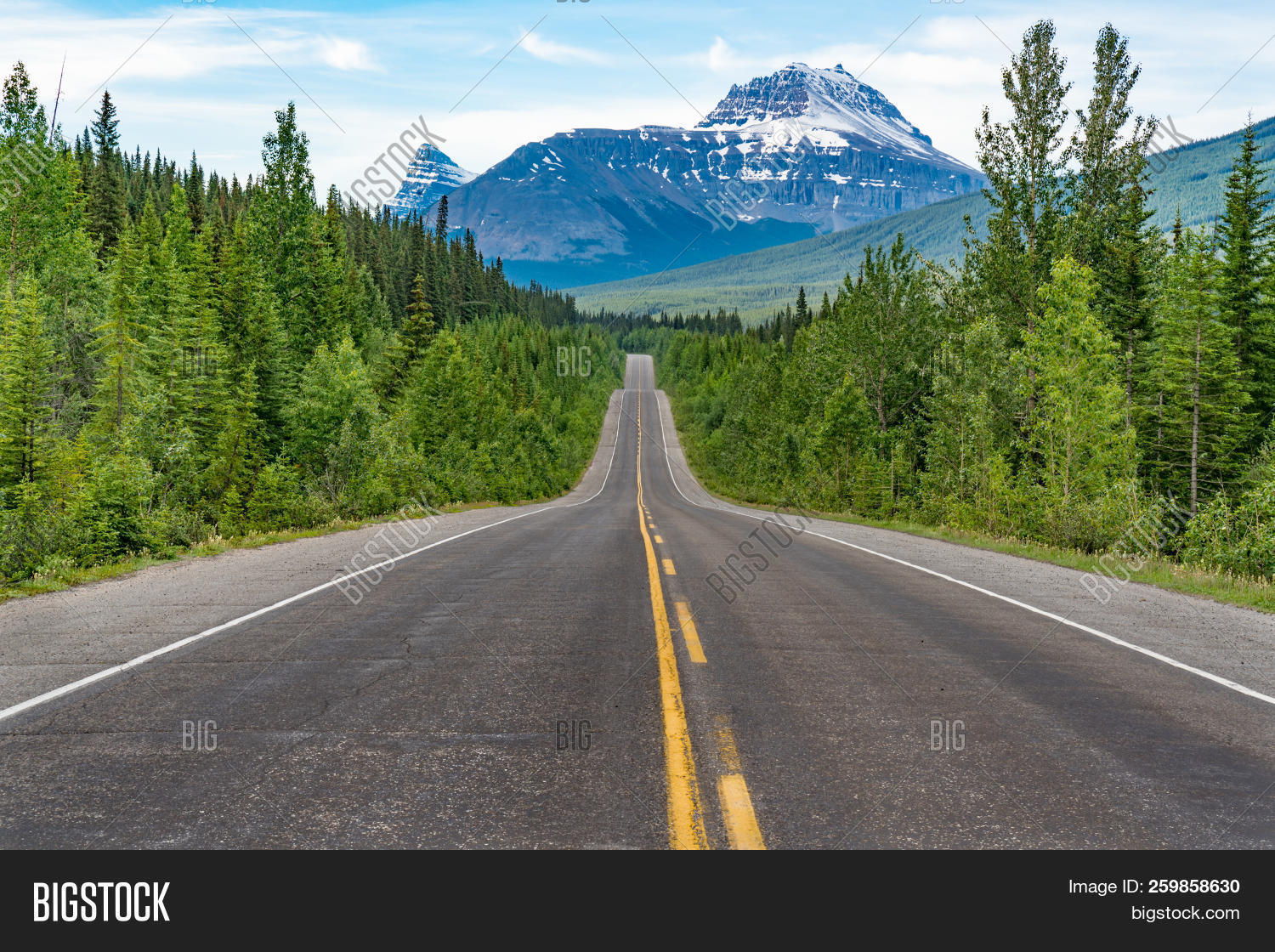 Canada Route 93 On Image & Photo (Free Trial) | Bigstock