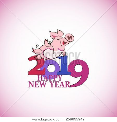 Funny Pink Pig. Happy Vector & Photo (Free Trial) | Bigstock