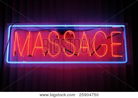 Neon Sign series  massage