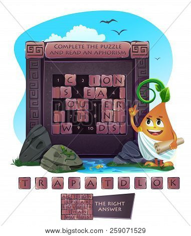 Complete The Puzzle Action