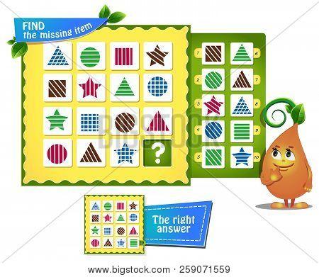 Find Missing Item   Shapes
