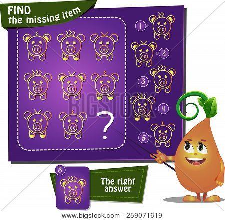 Find The Missing Item Pig