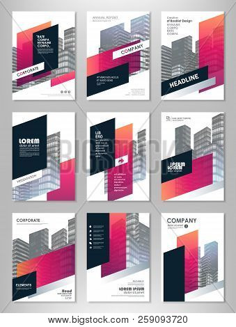 Red Abstract Presentation Slide Templates. Brochure Template, Brochures, Brochure Layout, Brochure C