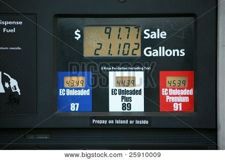 gas prices in california in june 2008
