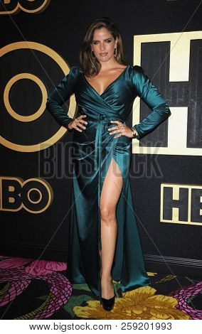 Noa Tishby at the HBO's Official 2018 Emmy After Party held at the Pacific Design Center in West Hollywood, USA on September 17, 2018.