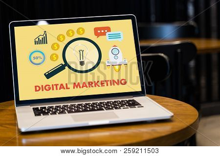 Digital Marketing New Startup Project Millennials Business Team Hands At Work With Financial Reports