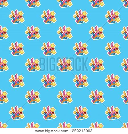 Pattern Colorful Festive Flapper And Fireworks For Holiday. Event, Celebration, Party Concept. Seaml
