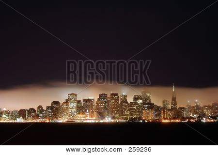 San Francisco City Night Time