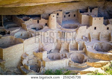 The Cliff Palace In Mesa Verde National Park, Colorado