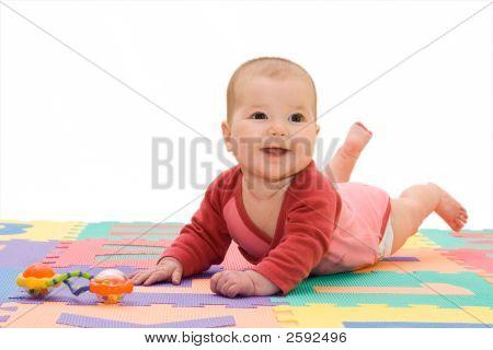 Smiley Baby Girl