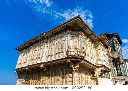Historical Buildings Mudanya Bursa In Turkey