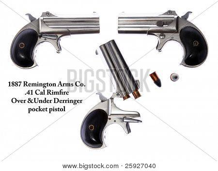 Genuine Antique 1887 Double Derringer