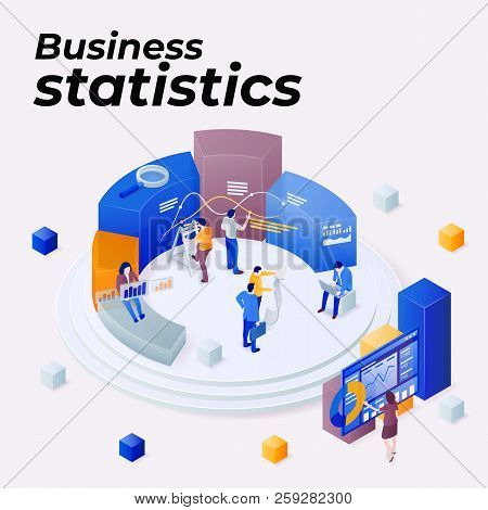 Statistics And Business Statement. Promoting Business On The Internet. Seo Optimization. People Work